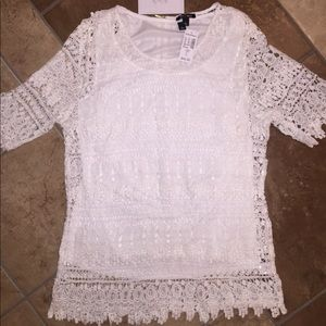 Brand New Lace Tunic